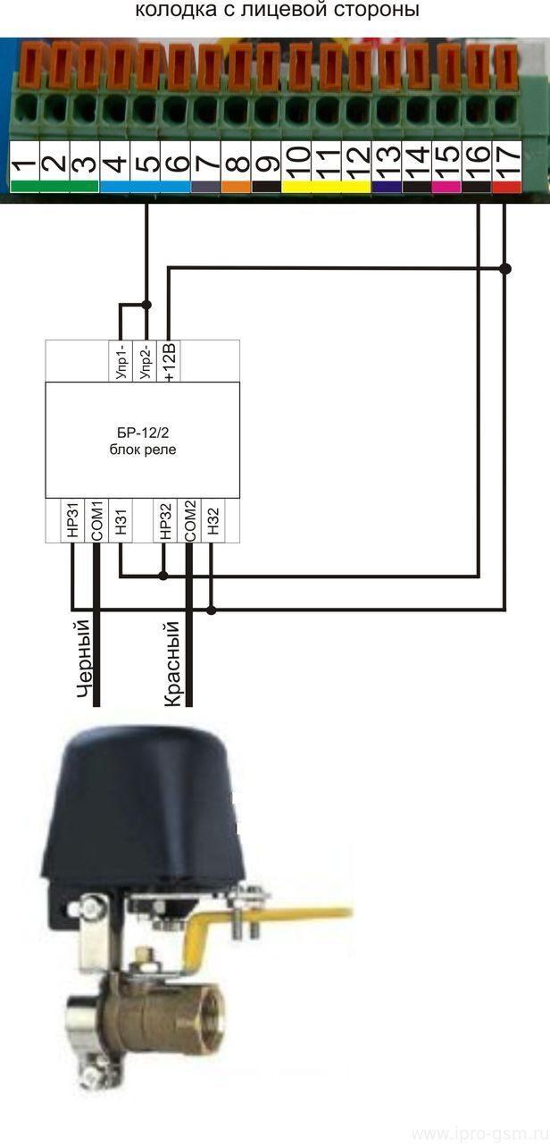 схема подключения ктм-тм