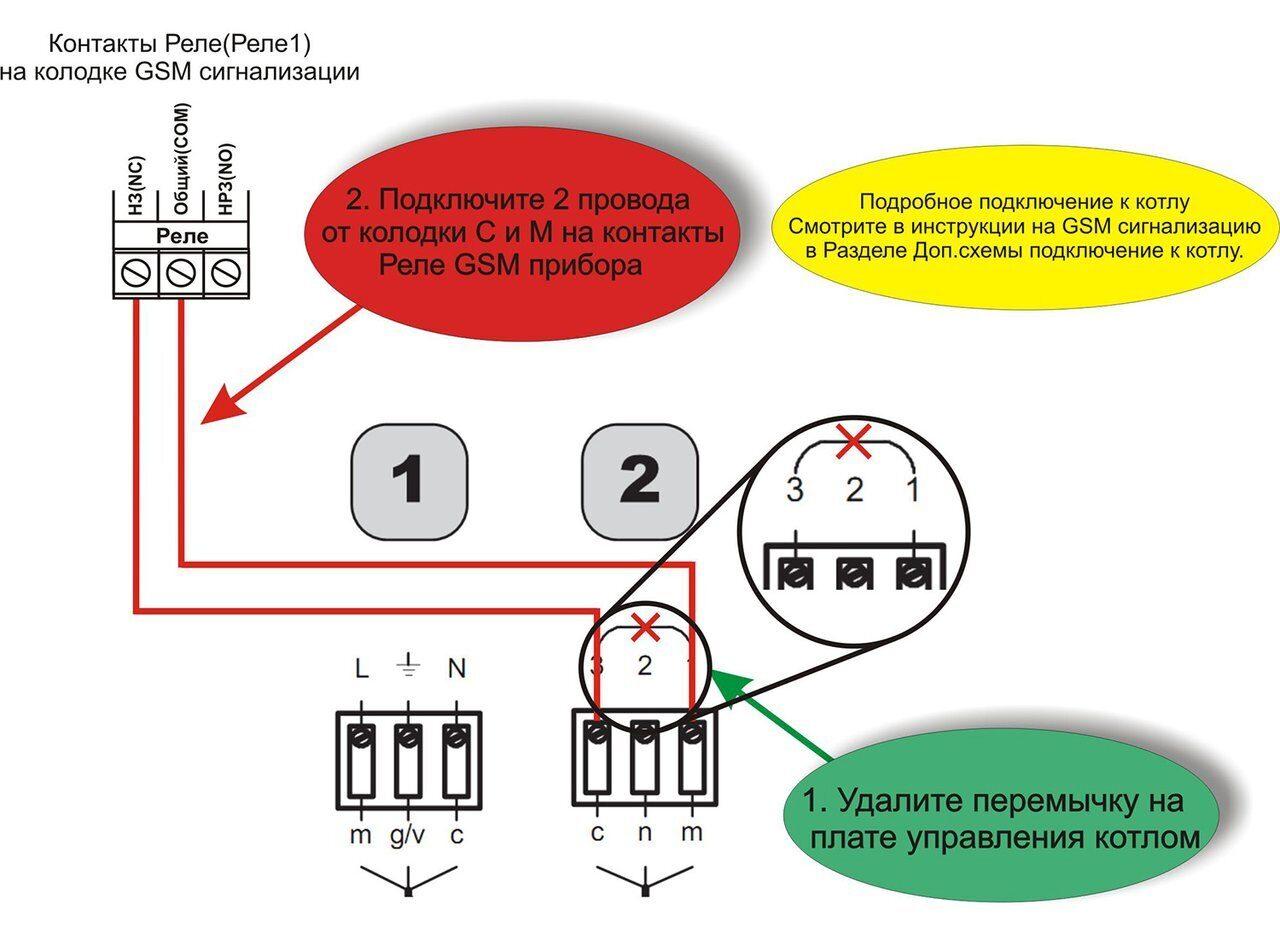 Схема подключения настенных газовых котлов Electrolux GCB Quantum Fi