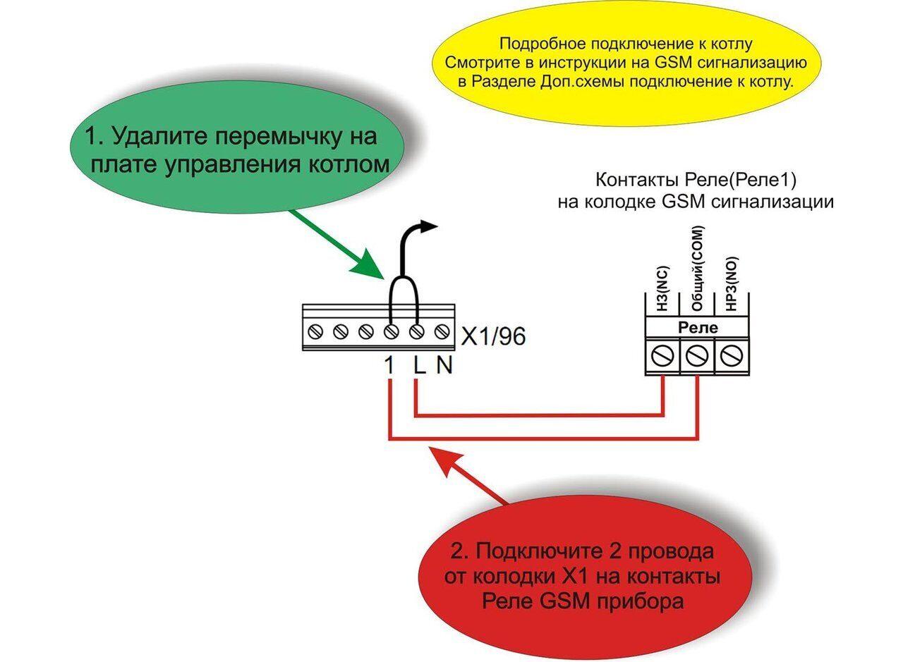Схема подключения котлов Viessmann VITODENS