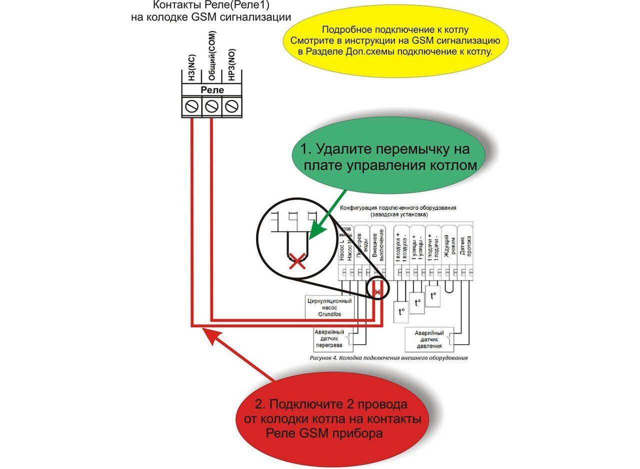 Схема подключения котла Савитр Premium