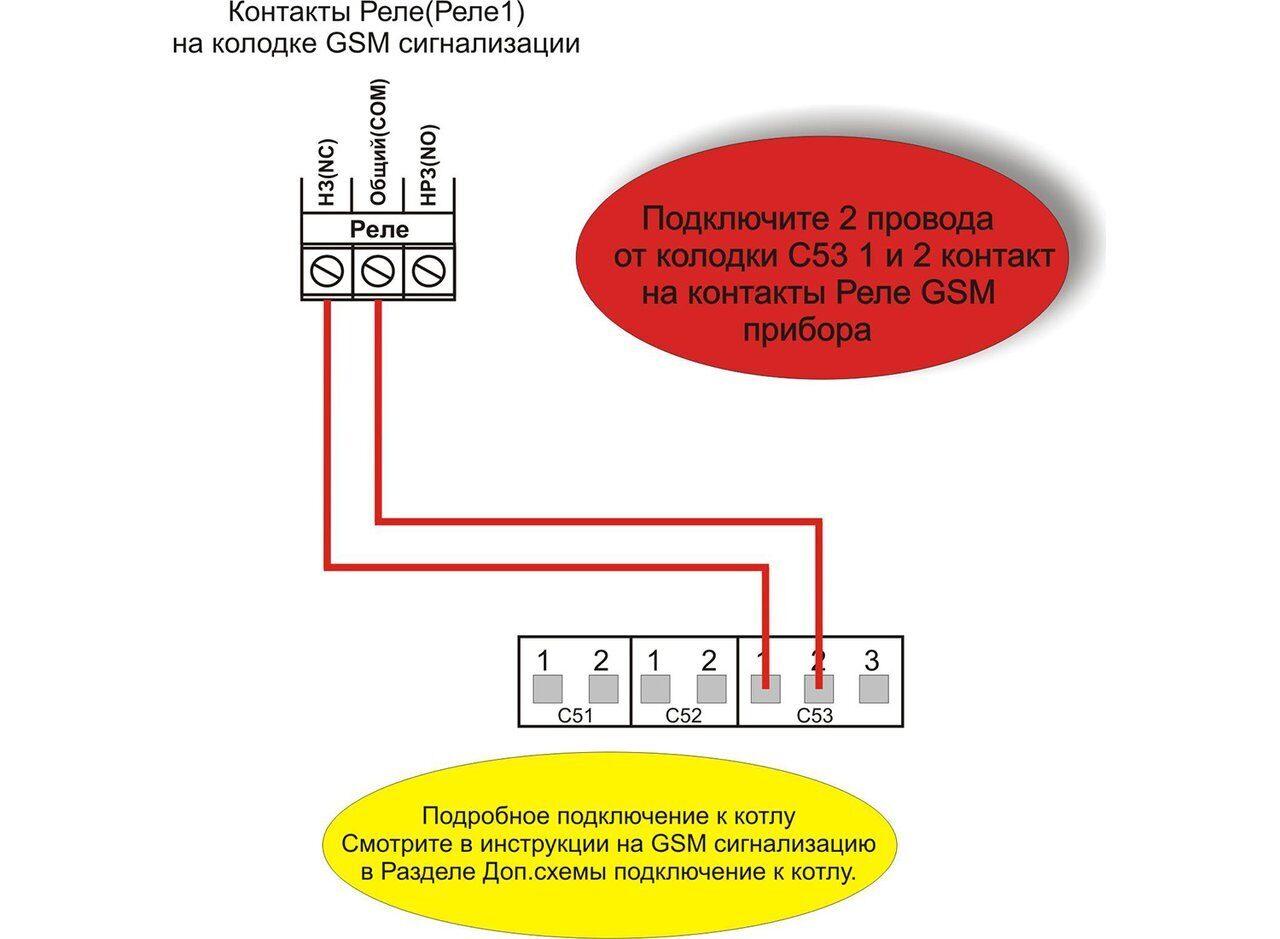 Схема подключения напольных газовых котлов Electrolux FSB iN