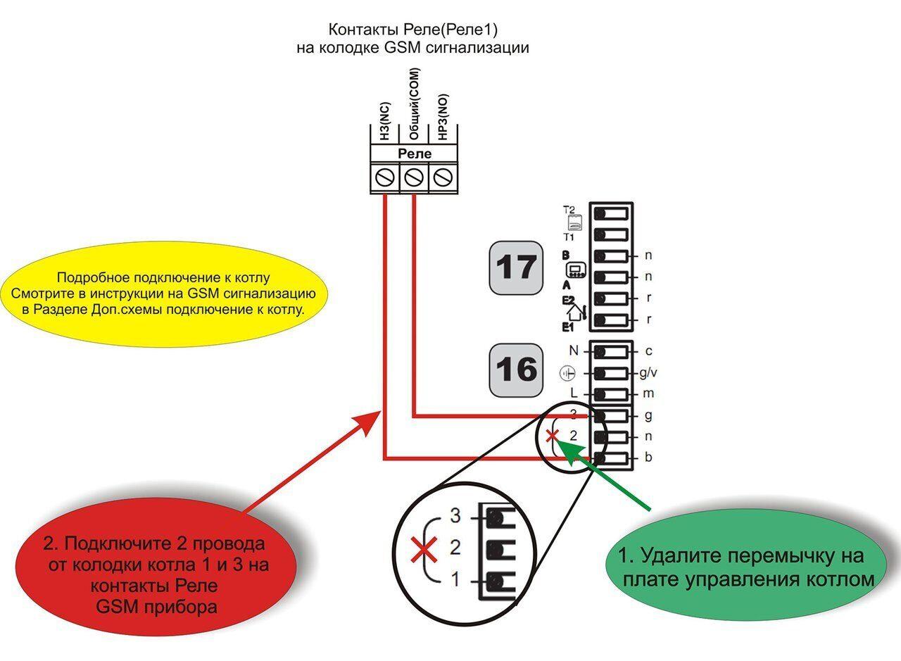 Схема подключения газовых котлов Биаси риннова конд