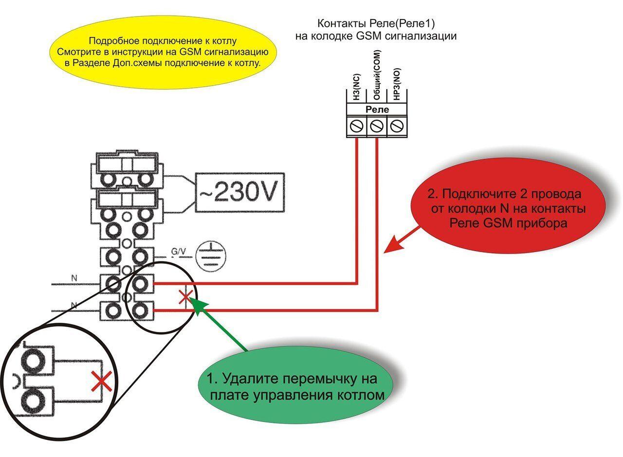 Схема подключения газовых котлов Baxi ECO Four
