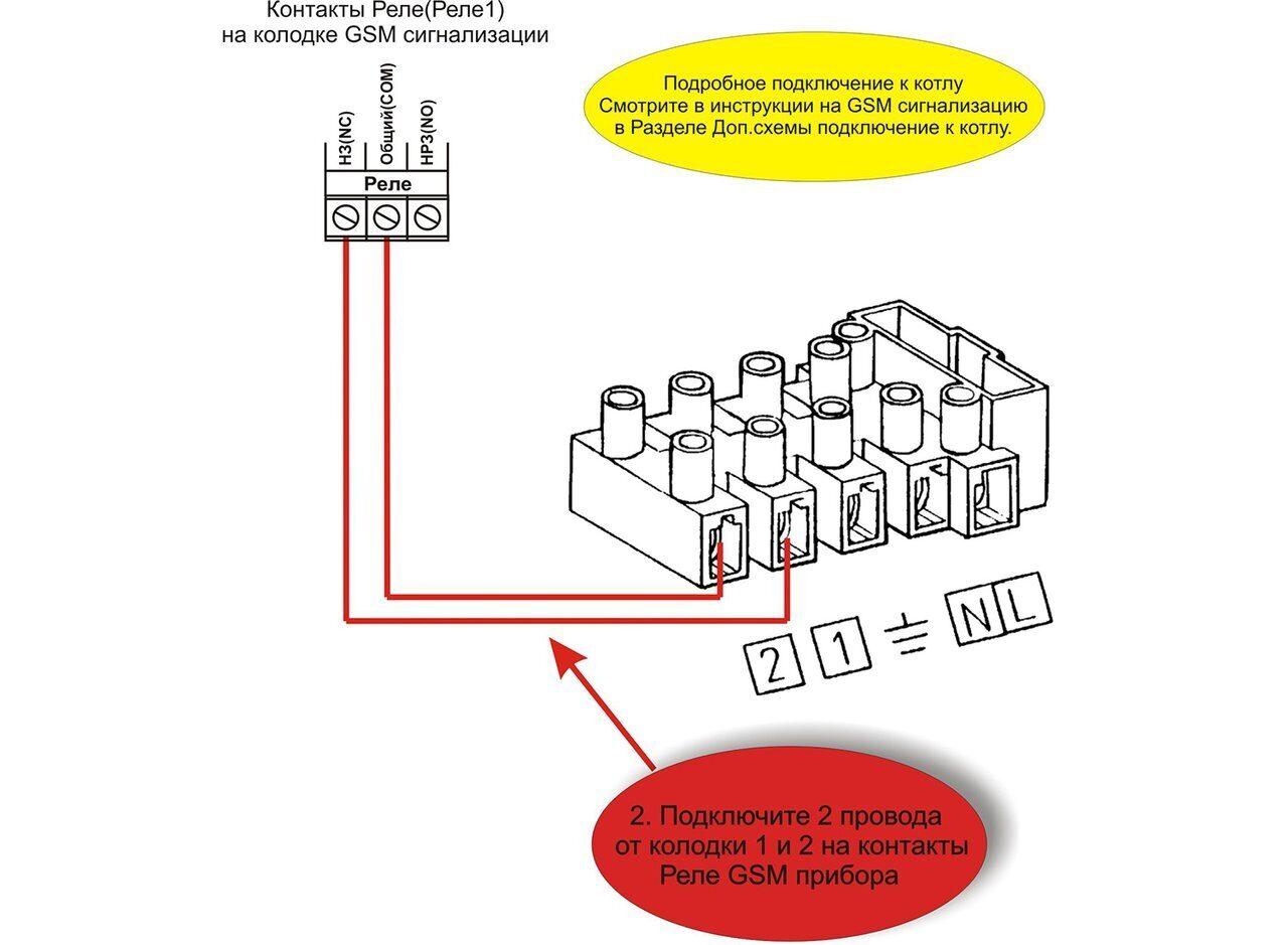 Схема подключения газовых котлов Baxi SLIM 2.300 fi