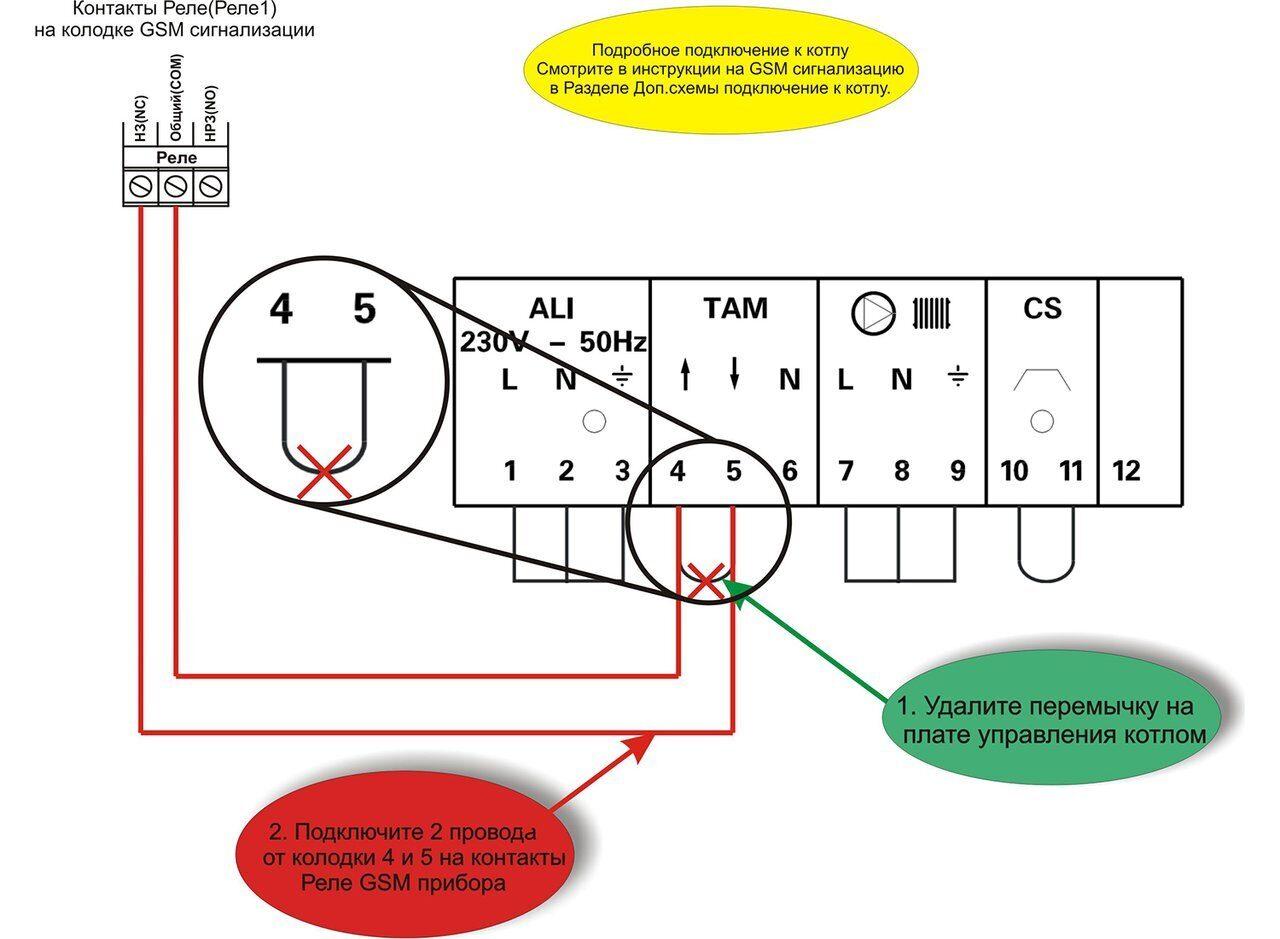 Схема подключения настенного газового котла De Dietrich DTG X