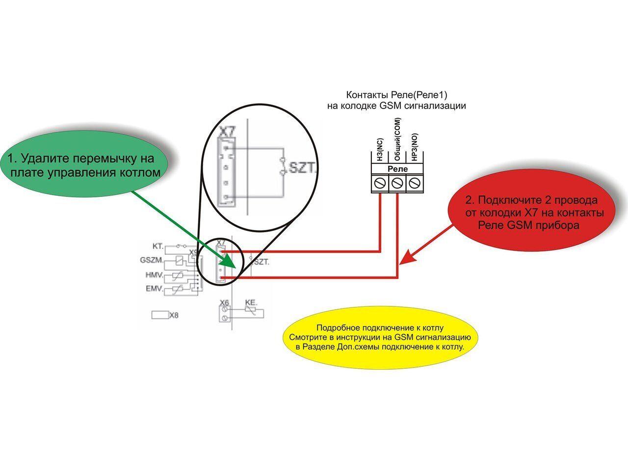 Схема подключения напольных газовых котлов Electrolux FSB Mi