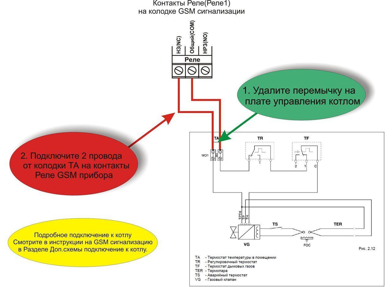 Схема подключения газовых котлов Беретта Новелла
