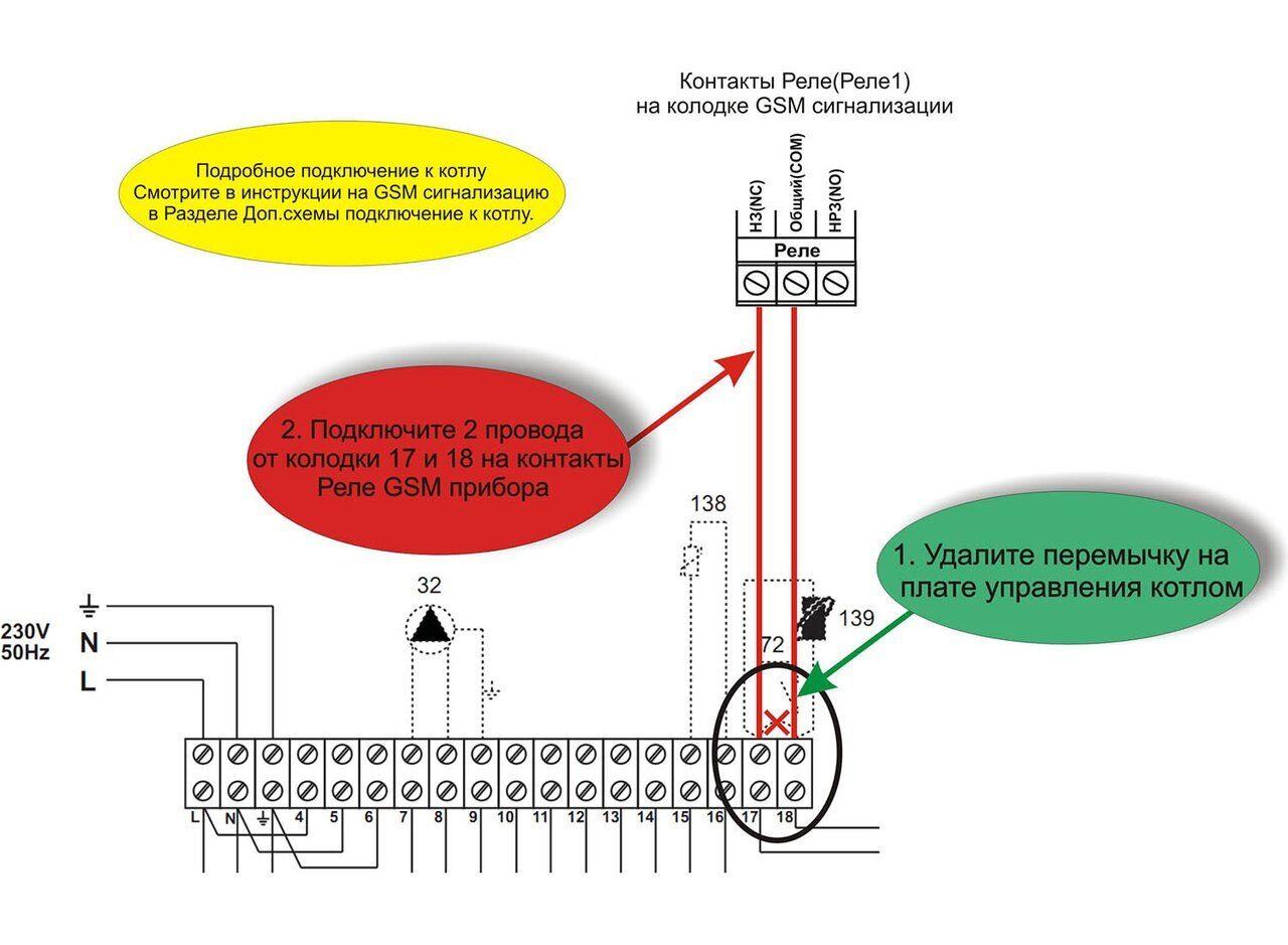 Схема подключения газового котла Ferroli ATLAS D