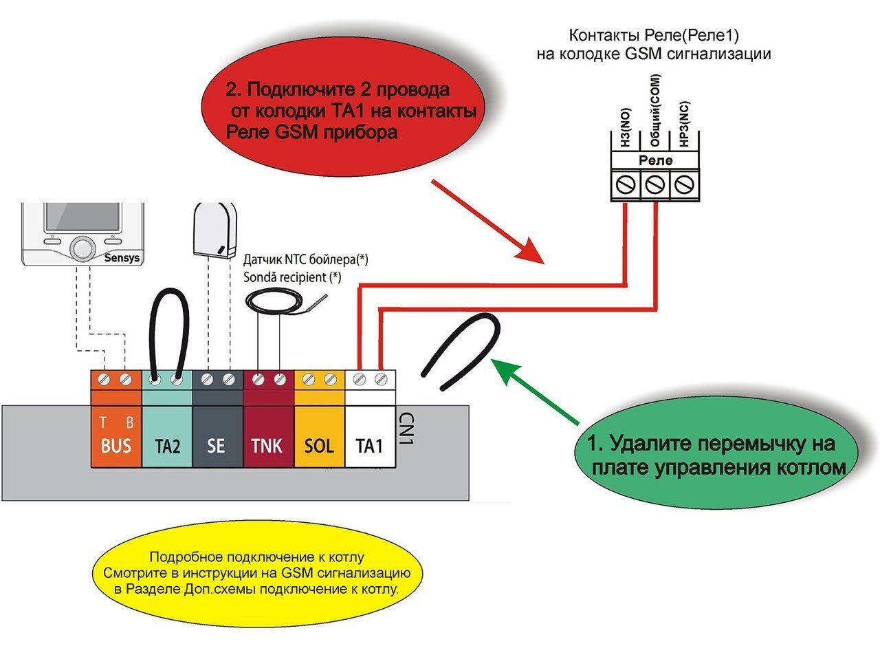 Схема подключения газового котла Ariston Alteas one net