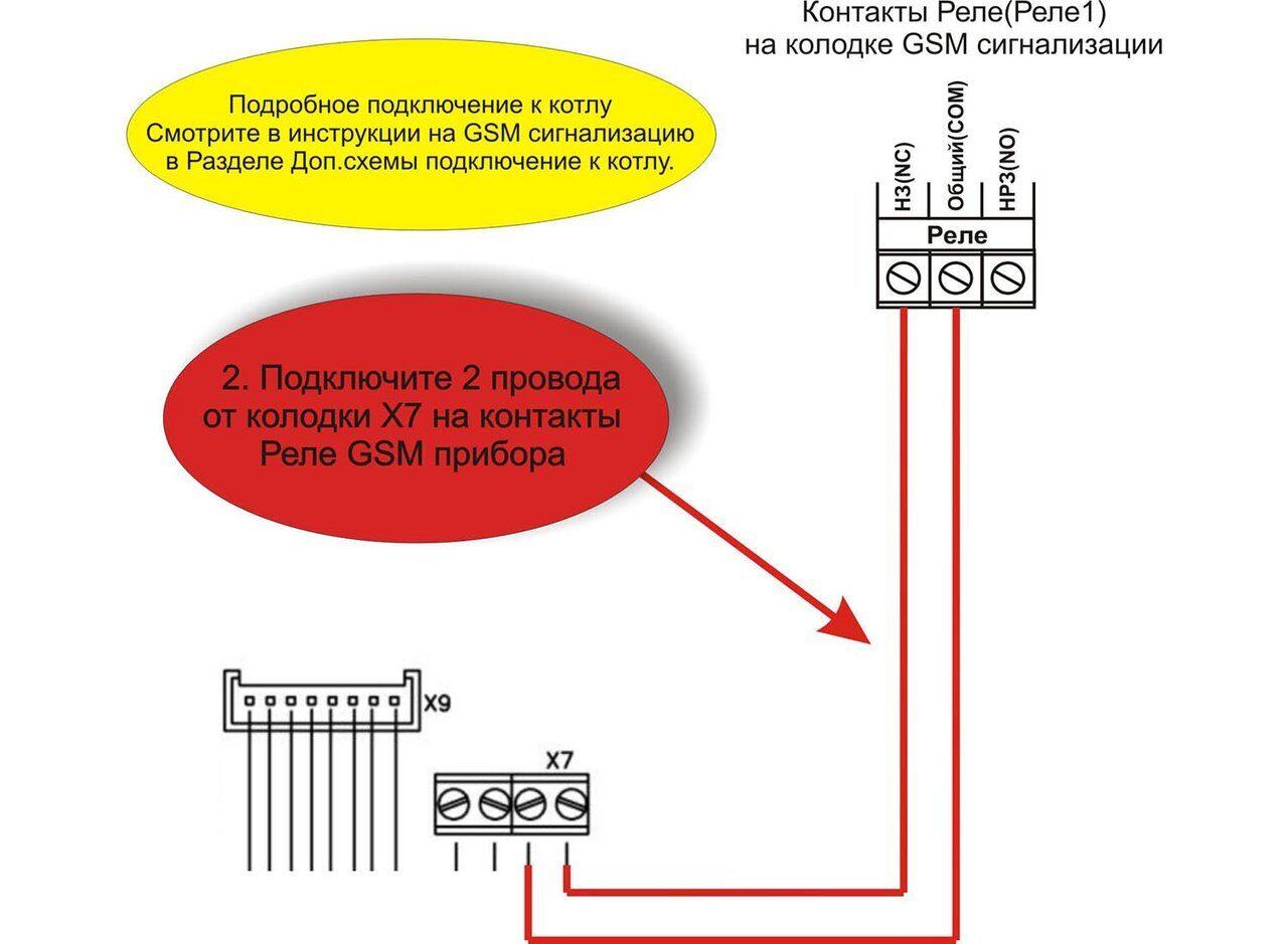 Схема подключения котла Roda Krafter BMOD