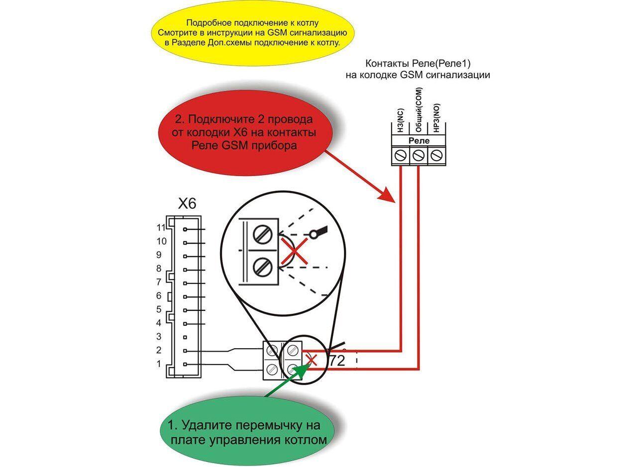 Схема подключения газового котла Ferroli DOMItech C