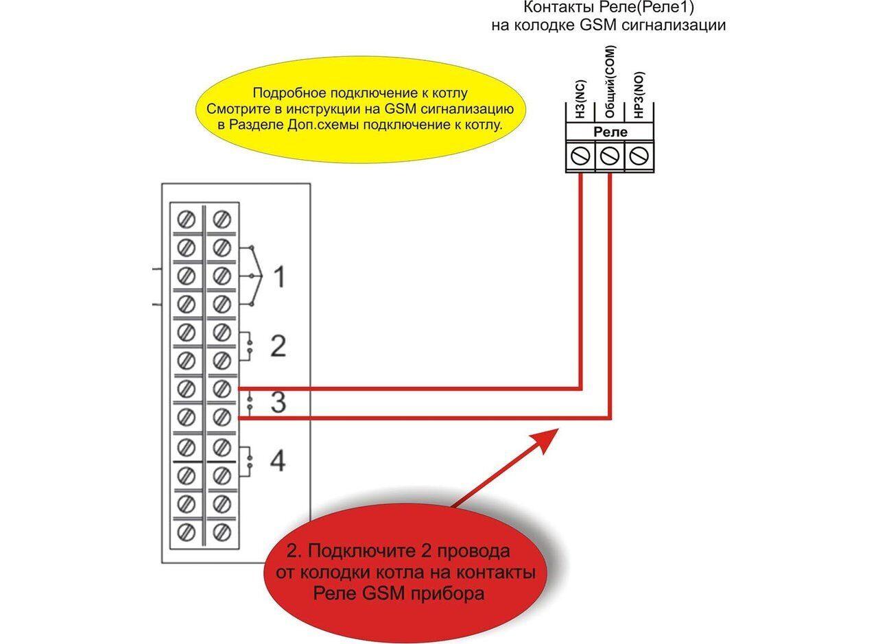 Схема подключения газового котла Ferroli ZEWS