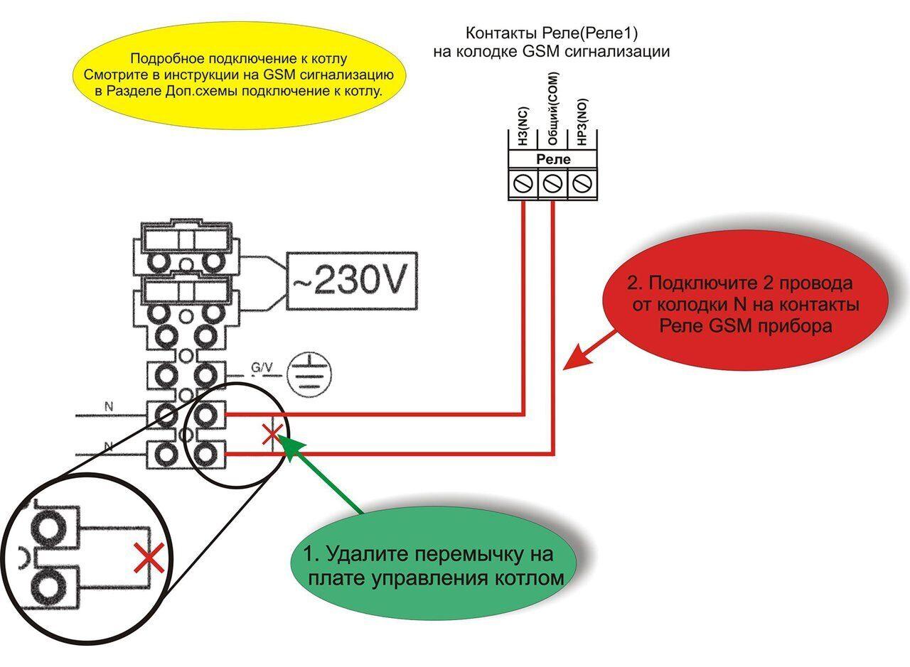 Схема подключения настенного газового котла De Dietrich MS 24