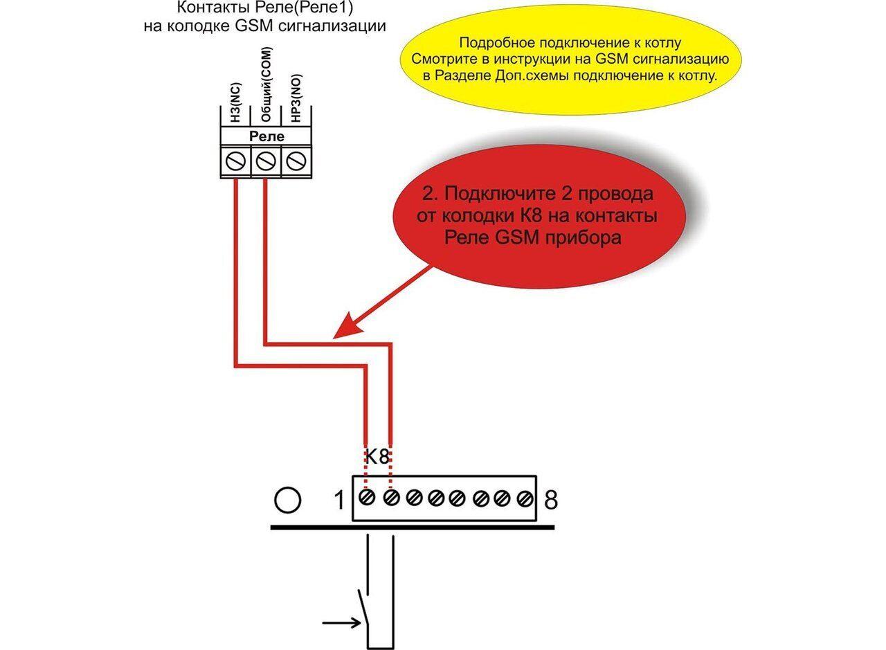 Схема подключения котлов Vaillant EloBLOCK