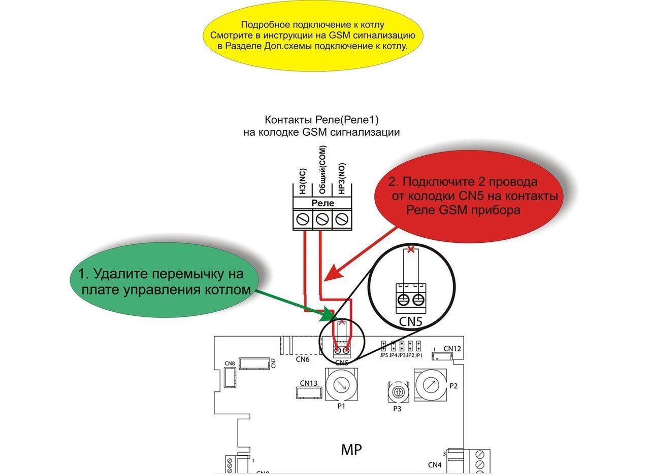 Схема подключения газового котла Беретта Фабула Е