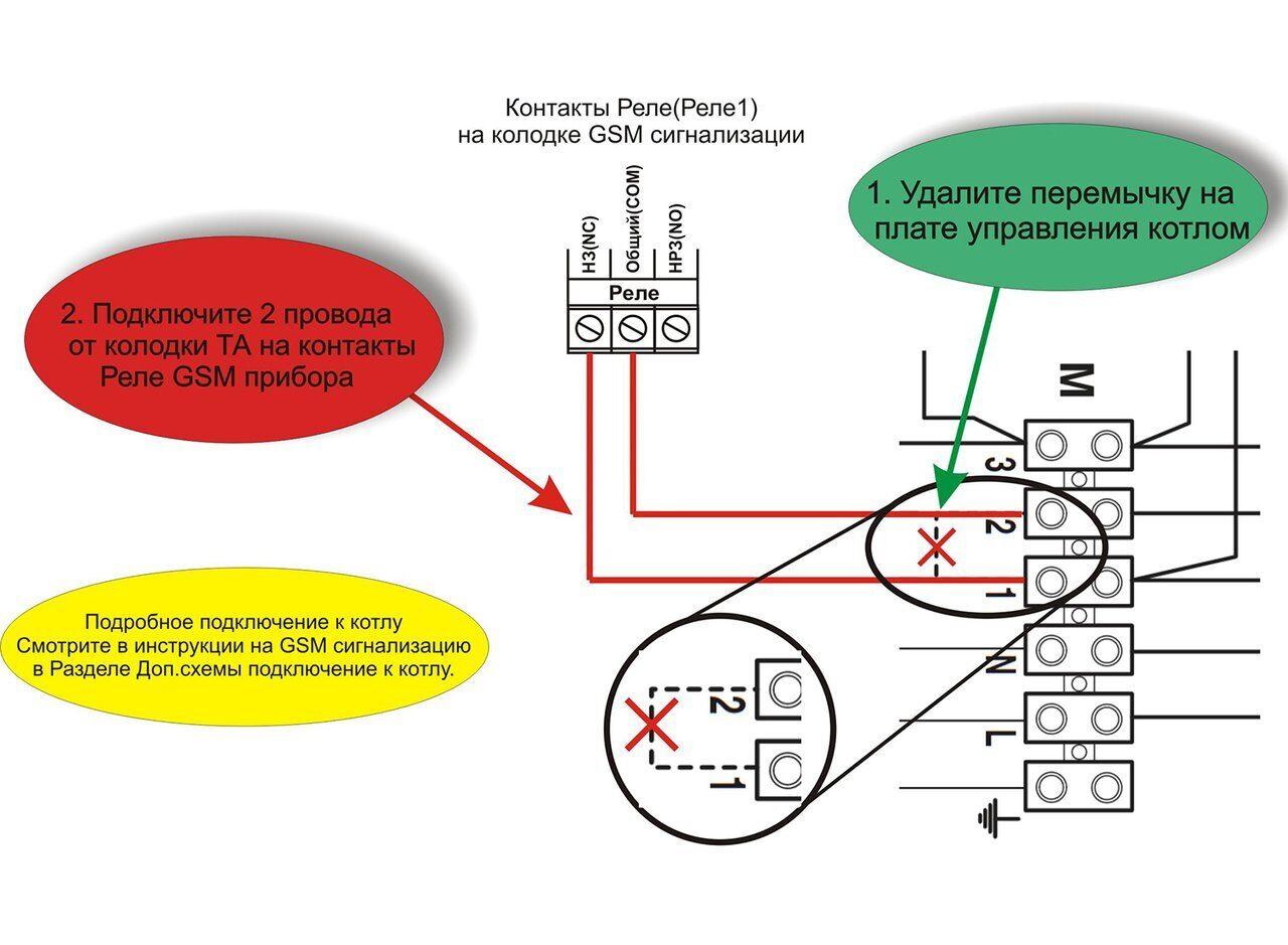 Схема подключения газового котла Биаси Каппа BO100