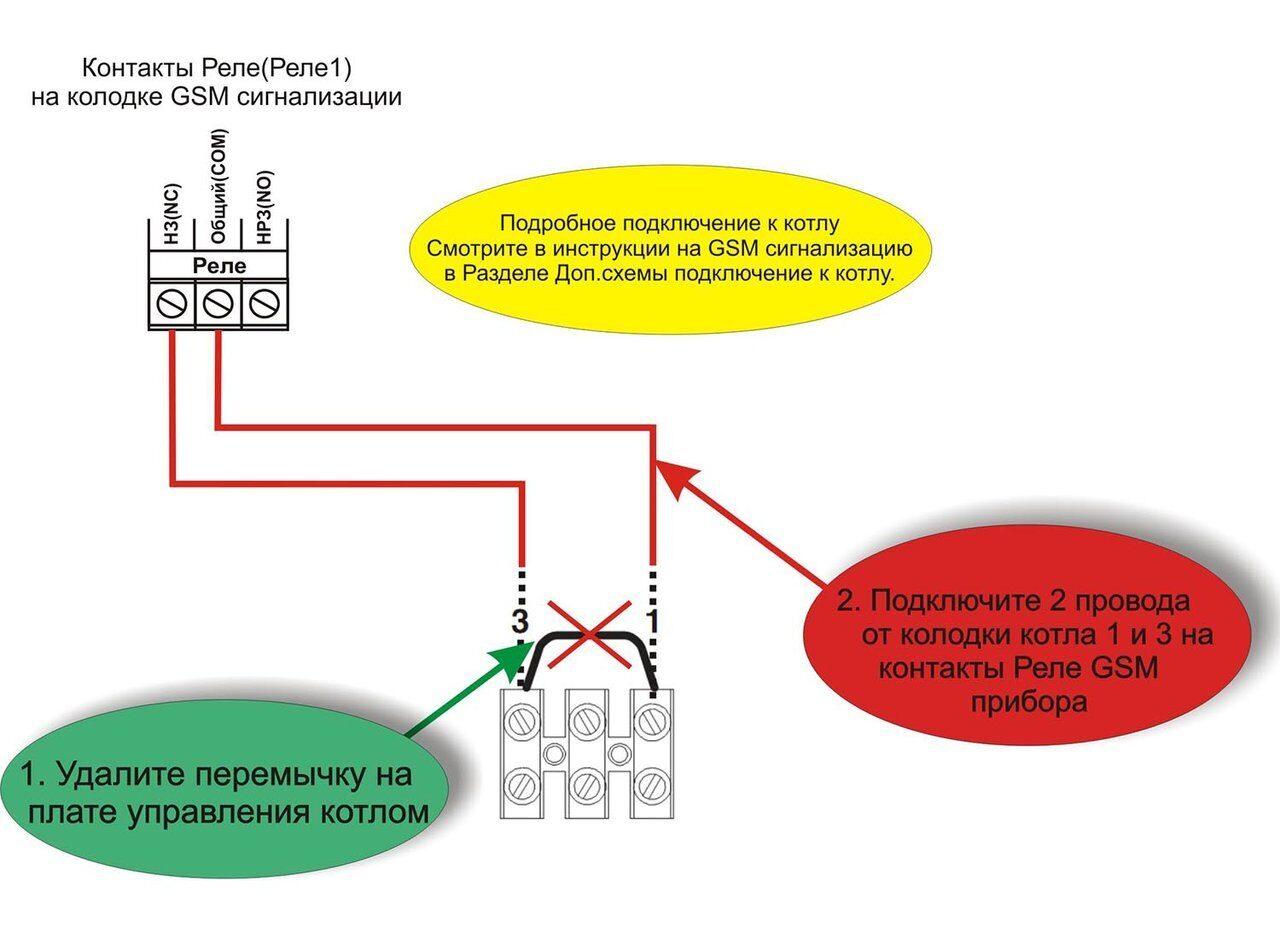 Схема подключения газовых котлов Биаси Парва конденсинг